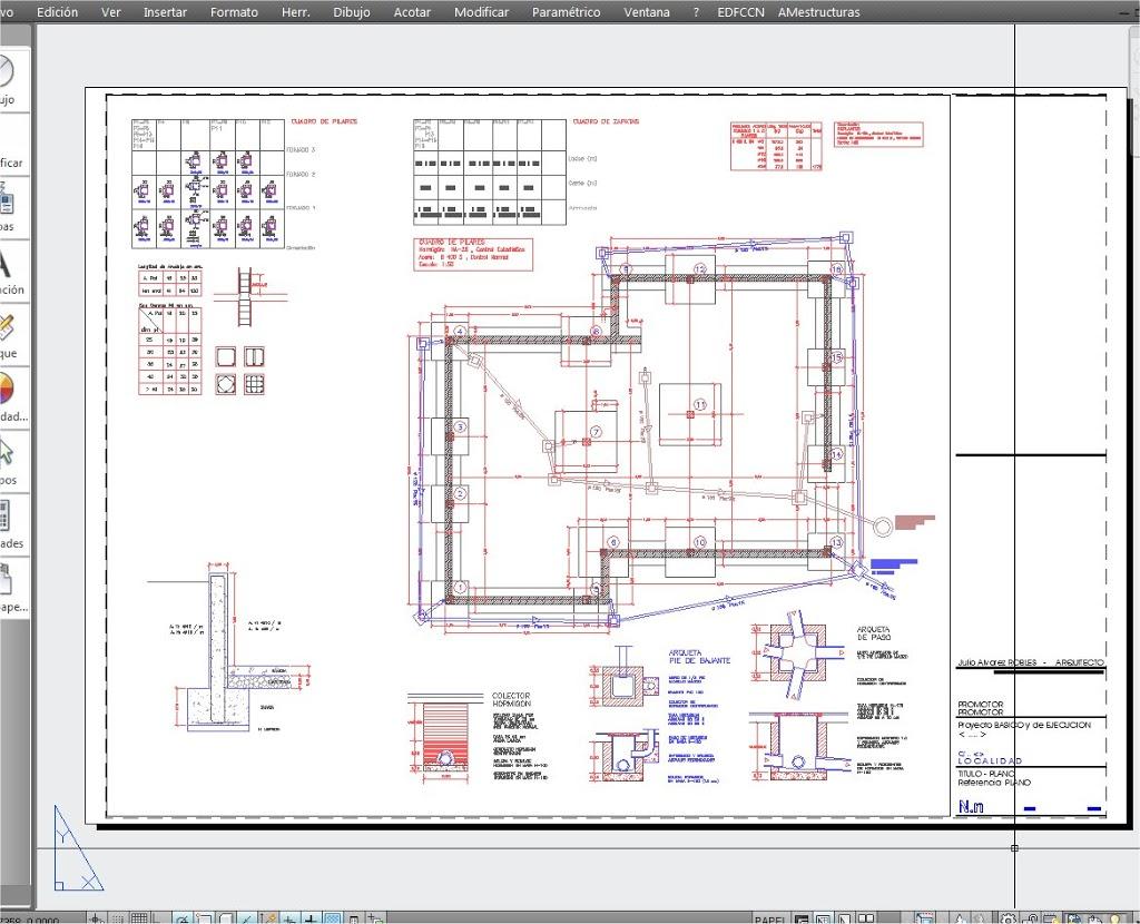 Proyecto julio lvarez - Planos de una vivienda ...