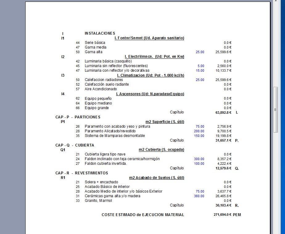 Mediciones y presupuestos julio lvarez - Modelo presupuesto reforma vivienda ...